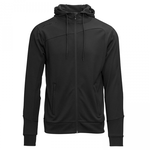 Hooded jacket zwart