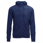 Hooded jacket marine