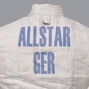 Name printing on electric fencing jackets (transfer print)