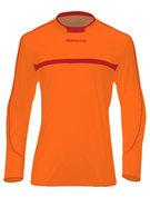 Keepershirt LM Brasil neon oranje/rood