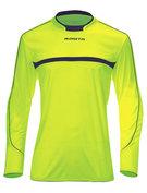 Keepershirt LM Brasil Neon -groen/marine