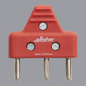 Cable plug 3-pole