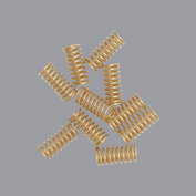 Epee contact springs, gold plated