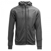 Hooded Jacket Forza Grey-Melange