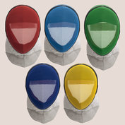 FIE-fencing mask INOX 1600N with conductive bib -