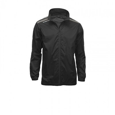 Windbreaker striker zwart/antraciet
