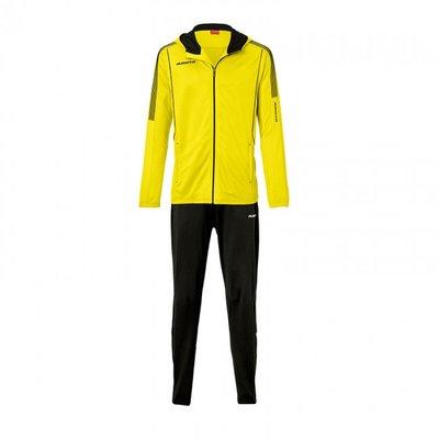 Hooded jacket barça geel/zwart