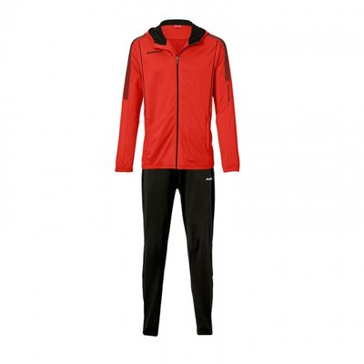 Hooded jacket barça rood/zwart