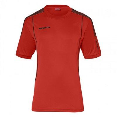 T-shirt barça rood/zwart