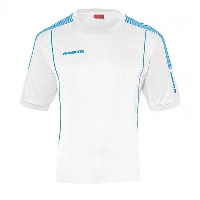 T-shirt barça wit/sky