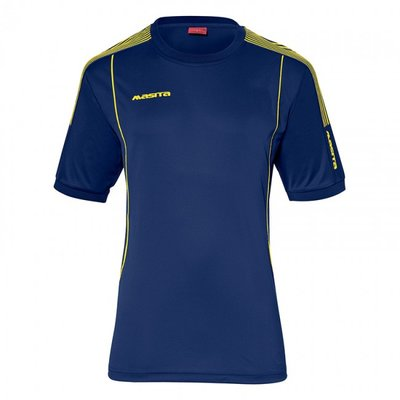 T-shirt barça marine/geel
