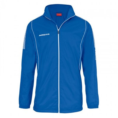 Windbreaker barça royal blauw/wit