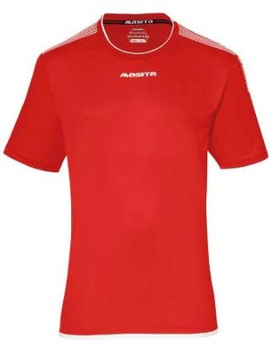 Sportshirt KM sevilla rood/wit