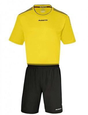 Sportshirt KM sevilla geel/zwart