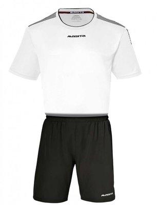 Sportshirt KM sevilla wit/zwart