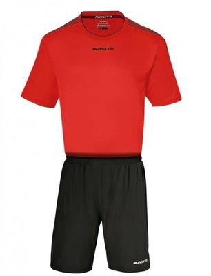 Sportshirt KM sevilla rood/zwart
