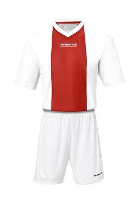 Sportshirt KM ajax wit/rood
