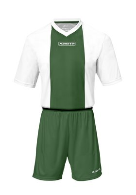 Sportshirt KM ajax wit/groen