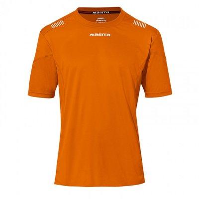 Damesshirt porto oranje/wit