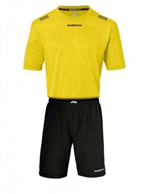 Damesshirt porto geel/zwart