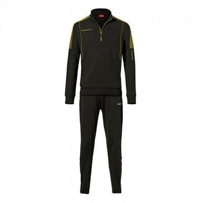 ZIP-sweater barça zwart/geel