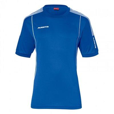 T-shirt barça royal blauw/wit