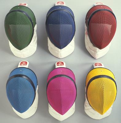 "allstar mask Inox ""Vario"" for foil/epee FIE 1600N ""Comfort plus"" CE EN 13567 Niveau 2 (including mask cable)- ""color"""