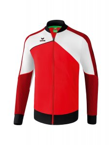PREMIUM ONE 2.0 presentation jacket red/white/black