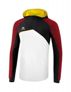 PREMIUM ONE 2.0 hoody white/black/red