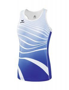 Singlet New royal/wit Dames
