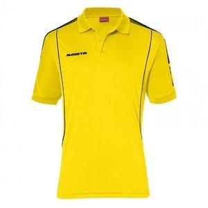 Polo barça geel/zwart
