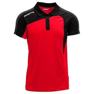 Polo Forza Rood - Zwart