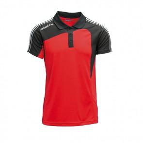Polo rood/zwart