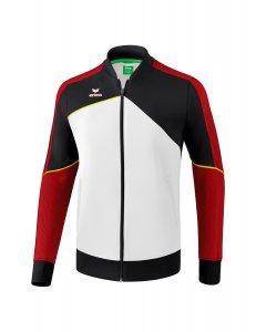 PREMIUM ONE 2.0 presentation jacket white/black/red