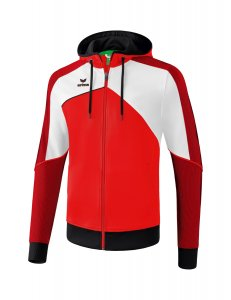 PREMIUM ONE 2.0 training jacket wit red/white/black
