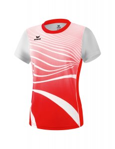 ATHLETIC t-shirt function red/white