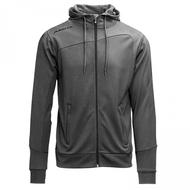 Hooded jacket grijs
